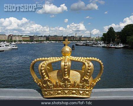 Crown, Sweden, Stockholm