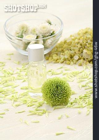 Wellness & Relax, Massage Oil, Bath Salt, Chrysanthemum