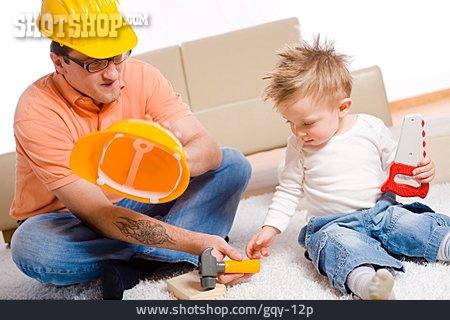 Father, Fun & Games, Son, Career Aspiration