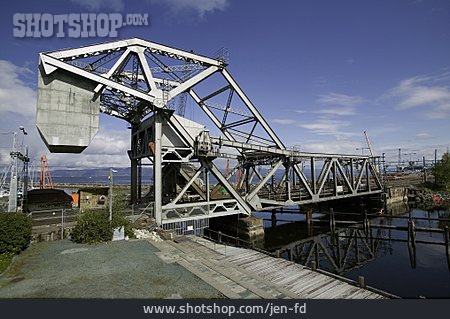 Harbour, Bridge, Lift Bridge