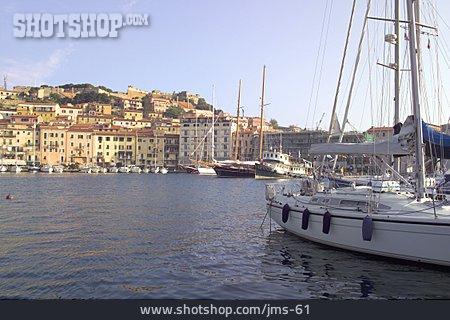 Harbour, Isle Of Elba, Portoferraio