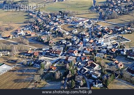 Aerial View, Austria, Zell Am Moos