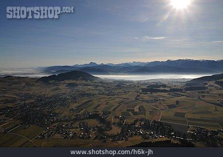 Aerial View, Wolfgangsee, Sankt Wolfgang