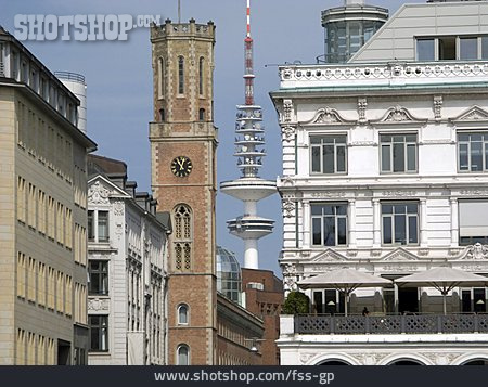 Television Tower, Hamburg, Old Post Office