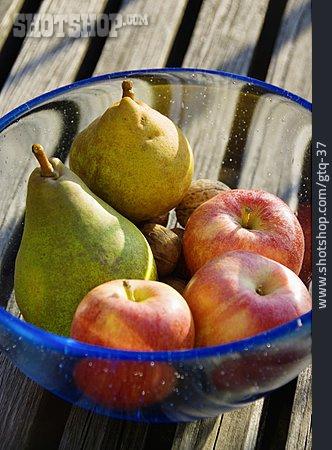 Apple, Pear, Fruit Bowl