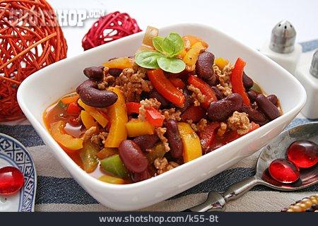 Chili Con Carne, Mexican Cuisine