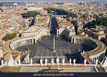 City View, Rome, Petersdom