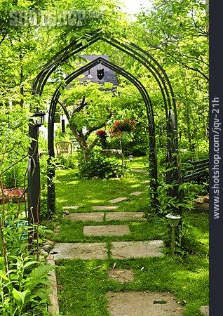 Garden, Passage, Garden Path