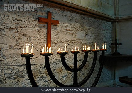 Judaism, Menorah, Sacral