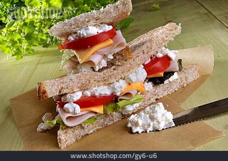 Toast, Sandwich