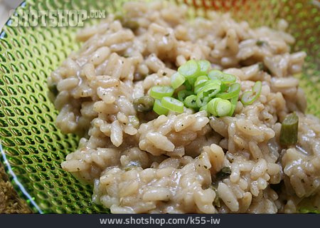Rice Dish, Risotto, Asparagus Risotto