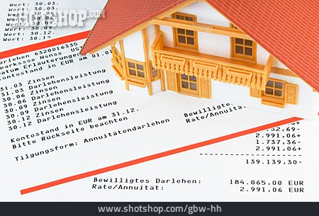 Credit, Mortgages, Bank Statement