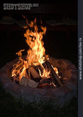 Fire, Campfire, Fire Pit