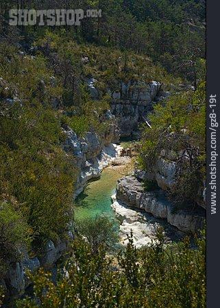 Ravine, River, France