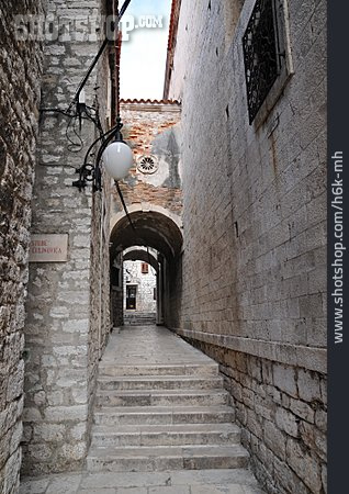 Staircase, Old Town, Alley, Sibenik