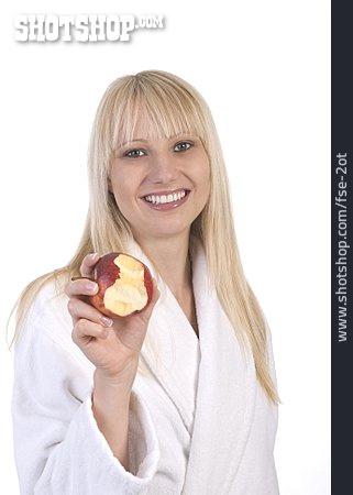Healthy Diet, Apple, Biting
