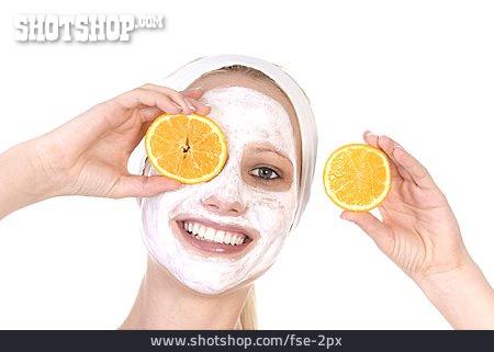 Young Woman, Skincare, Facial Mask