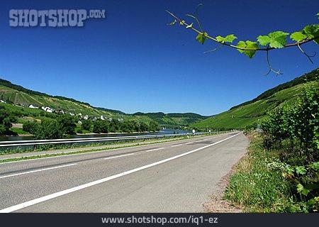Bicycle Lane, Wine-growing Region, Bundesstrasse