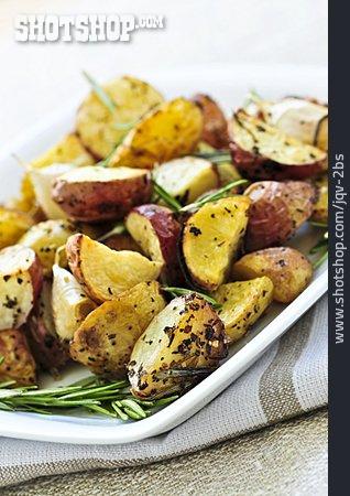 Baked Potato, Prepared Potato, Rosemary Potatoes