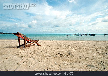 Deck Chair, Sandy, Koh Samui