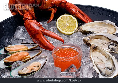 Delicacy, Seafood, Maritim