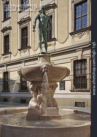 Fountain Figurine, Wroclaw, Fechterbrunnen