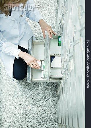Pharmacy, Pharmacist, Apothecary Cabinet