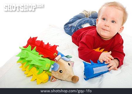 Toddler, Toy, Stuffed Animal