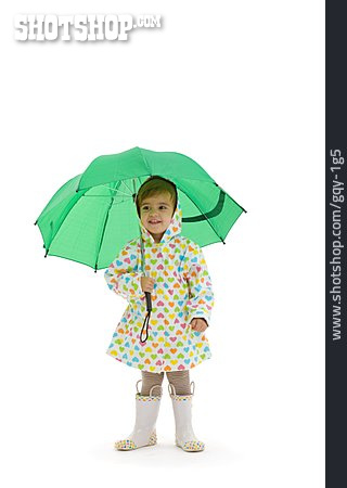 Girl, Weatherproof, Raincoat