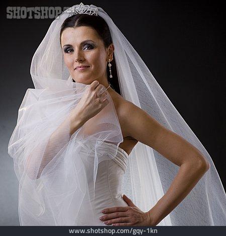 Wedding, Bride, Wedding Dress, Bridal Veil