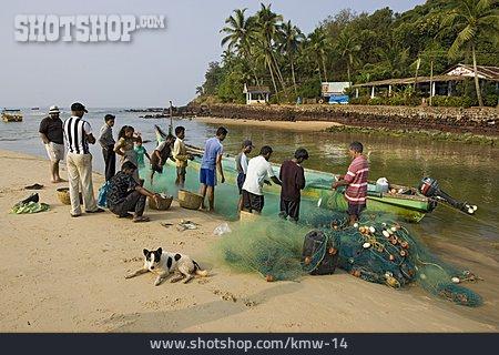 Fishing Boat, India, Goa