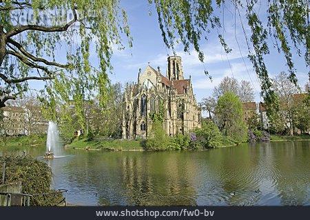 Johanneskirche, Emergency Water Reserve