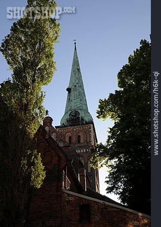 Church, Steeple, Riga