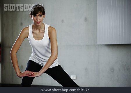 Gymnastics, Stretching, Posture, Workout