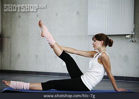 Gymnastics, Stretching, Dancer, Training