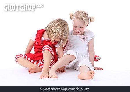 Girl, Friendship, Compare