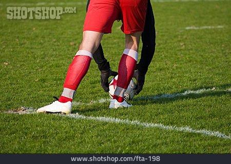 Goal Keeper, Tee Box, Kickoff