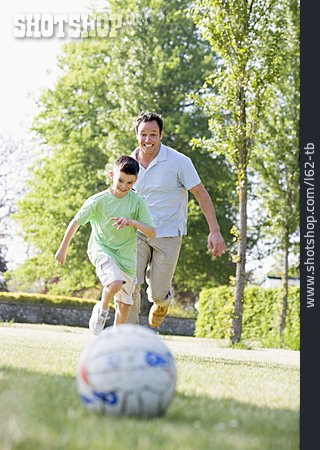 Father, Fun & Happiness, Soccer, Son
