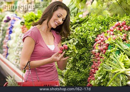 Young Woman, Shopping