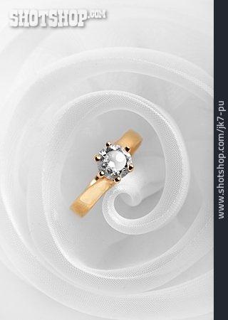Jewelry, Diamond, Gold Ring