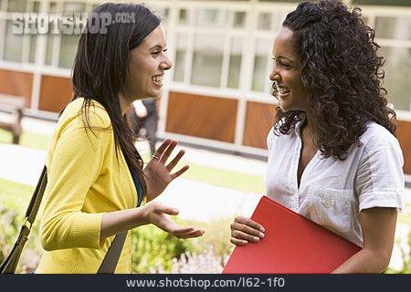 Meeting & Conversation, Girlfriend