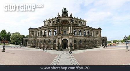 Opera, Dresden, Semperoper