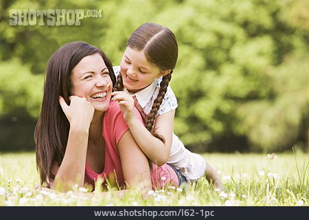 Mother, Fun & Happiness, Daughter, Tickling