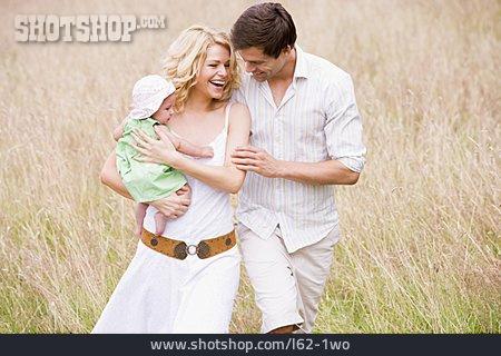 Baby, Parent, Walk