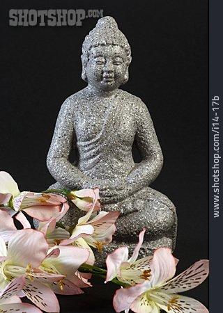 Meditating, Buddha, Buddha