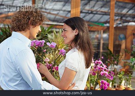 Loving, Love Couple, Orchid, Garden Market
