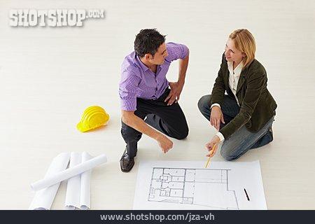 Meeting & Conversation, Customer, Building Planning