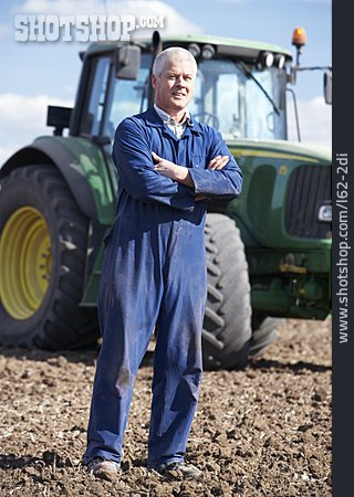 Agriculture, Tractor, Portrait