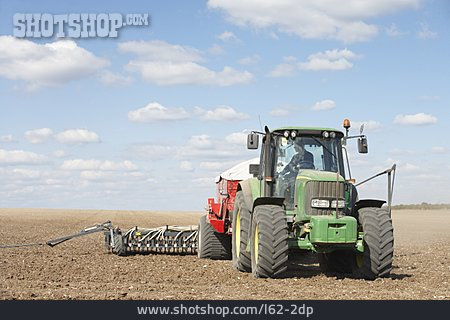 Agriculture, Tractor, Seeders, Seed Drill