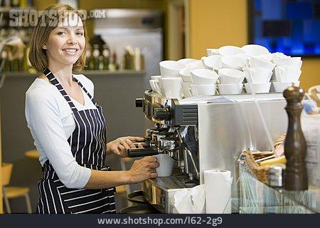 Cafe, Coffee Shop, Coffee Making, Barista